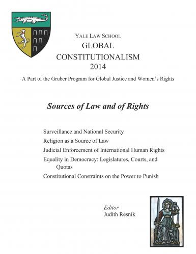 Global Constitutionalism 2014 : Sources of Law and of Rights