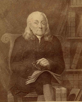 Tapping Reeve (1744-1823), founder of the Litchfield Law School.