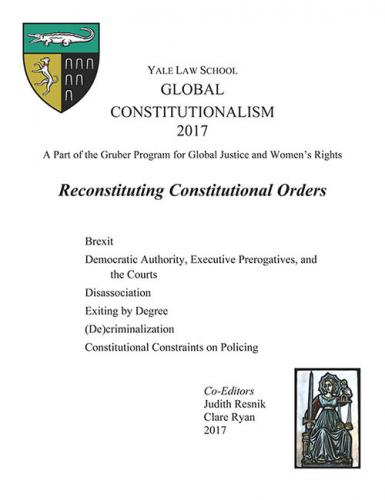 Cover of Global Constitutionalism 2017: Reconstituting Constitutional Orders book
