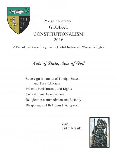 Cover of Global Constitutionalism 2016 book