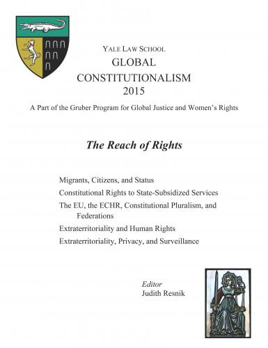 Cover of Global Constitutionalism 2015: The Reach of Rights book