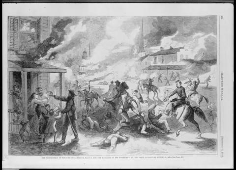 Destruction of Lawrence