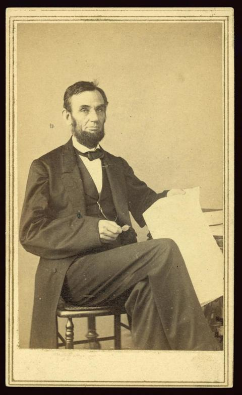 [Abraham Lincoln, full-length portrait