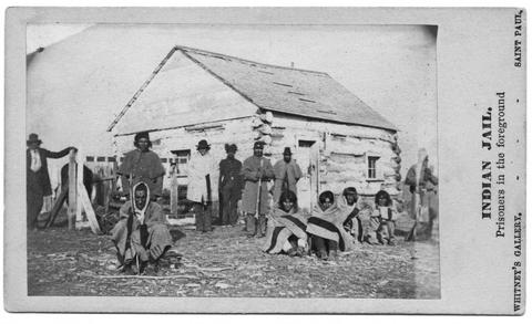Indian jail for Sioux uprising captives
