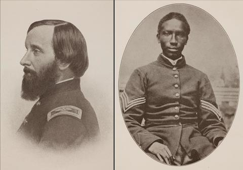 Thomas Wentworth Higginson and First Sergeant Henry Williams