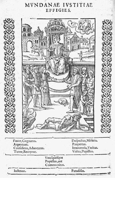 Mundanae iustitiae effigies