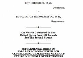 Kiobel v. Royal Dutch Petroleum
