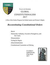 Cover of Global Constitutionalism 2017: Reconstituting Constitutional Orders book