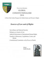 Cover of Global Constitutionalism 2014 : Sources of Law and of Rights book